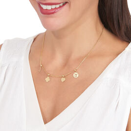 Charms Kaythleen Or Jaune - Pendentifs Coeur Femme | Histoire d'Or
