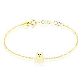 Bracelet Mae Ourson Or Jaune - Bracelets Naissance Enfant | Histoire d'Or