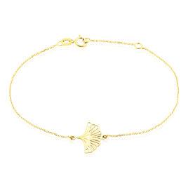 Bracelet Ayia Or Jaune - Bracelets Plume Femme | Histoire d'Or