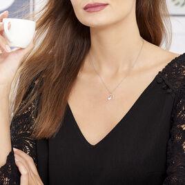 Collier Joya Argent Blanc - Colliers Coeur Femme | Histoire d'Or