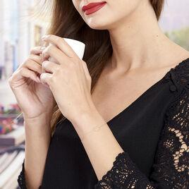 Bracelet Roselin Or Jaune - Bracelets Coeur Femme   Histoire d'Or