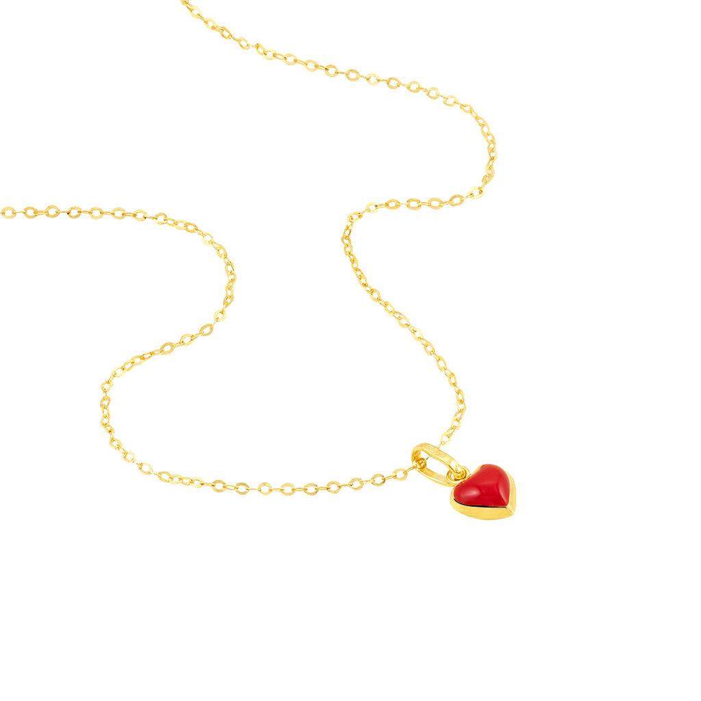 Collier Coralie Coeur Or Jaune - Colliers Coeur Enfant | Histoire d'Or