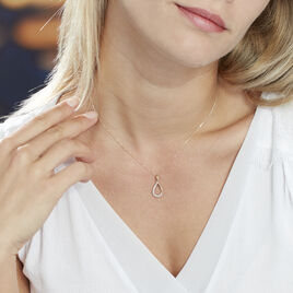 Collier Chrystalise Or Jaune Diamant - Bijoux Femme   Histoire d'Or
