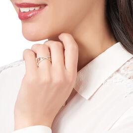 Bague Abiba Or Jaune Diamant - Bagues avec pierre Femme   Histoire d'Or