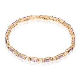 Bracelet Plaqué Or Et Oxyde - Bijoux Femme   Histoire d'Or
