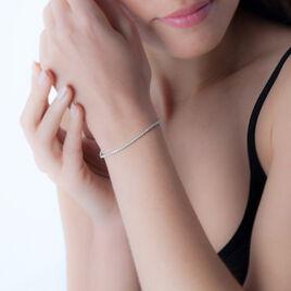 Bracelet Moscou Or Blanc Diamant - Bijoux Femme | Histoire d'Or