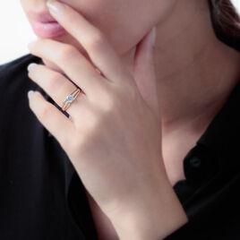 Bague Shahinez Or Jaune Oxyde De Zirconium - Bagues solitaires Femme | Histoire d'Or