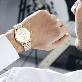 Montre Hugo Focus Champagne - Montres tendances Homme   Histoire d'Or