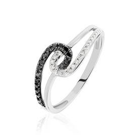 Bague Loriana Or Blanc Diamant - Bagues avec pierre Femme | Histoire d'Or