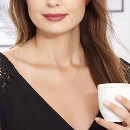 Collier Celene Or Rose - Bijoux Femme   Histoire d'Or