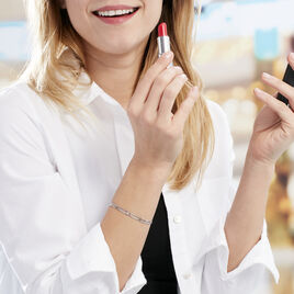 Bracelet Giorgia Argent Blanc - Bracelets fantaisie Femme | Histoire d'Or