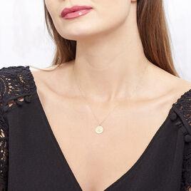 Collier Firmine Or Jaune Oxyde De Zirconium - Bijoux Femme | Histoire d'Or