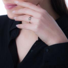 Bague Hira Or Blanc Diamant - Bagues avec pierre Femme | Histoire d'Or
