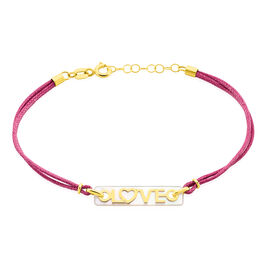 Bracelet Dorice Or Jaune Nacre - Bracelets Coeur Femme | Histoire d'Or