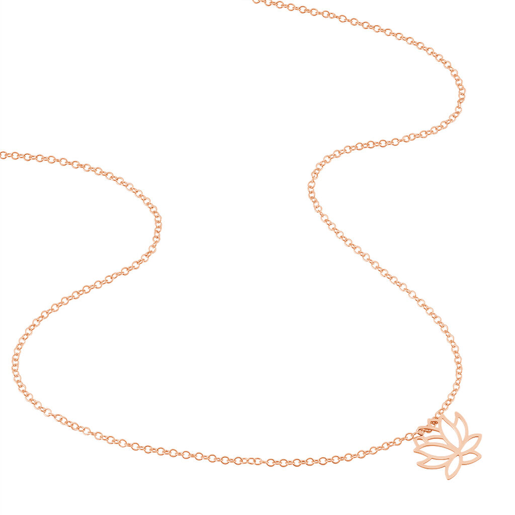 Collier Rosita Argent Rose - Colliers fantaisie Femme | Histoire d'Or