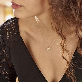 Collier Or Jaune Helisende Diamants - Colliers Coeur Femme | Histoire d'Or