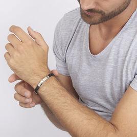 Bracelet Orietta Or Acier Bicolore - Bijoux Homme | Histoire d'Or