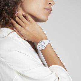 Montre Ice Watch Flower Bleu - Montres Femme | Histoire d'Or