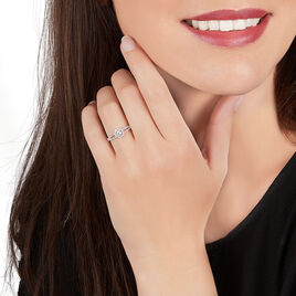 Bague Solitaire Karen Or Blanc Diamant - Bagues solitaires Femme | Histoire d'Or