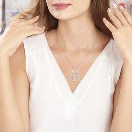 Collier Micaela Argent Blanc - Colliers Papillon Femme | Histoire d'Or