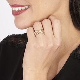 Bague Callistine Or Jaune Diamant - Bagues avec pierre Femme | Histoire d'Or
