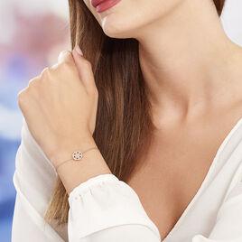 Bracelet Enoch Argent Blanc Oxyde De Zirconium - Bracelets fantaisie Femme | Histoire d'Or