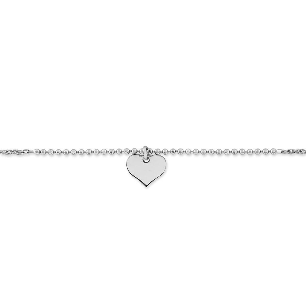 Bracelet Kaliciaae Argent Blanc - Bracelets fantaisie Femme | Histoire d'Or