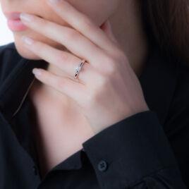 Bague Solitaire Collection Grace Or Blanc Diamant - Bagues avec pierre Femme   Histoire d'Or