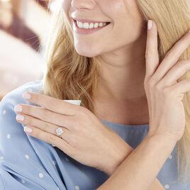 Bague Anasthase Argent Blanc Oxyde De Zirconium - Bagues solitaires Femme | Histoire d'Or