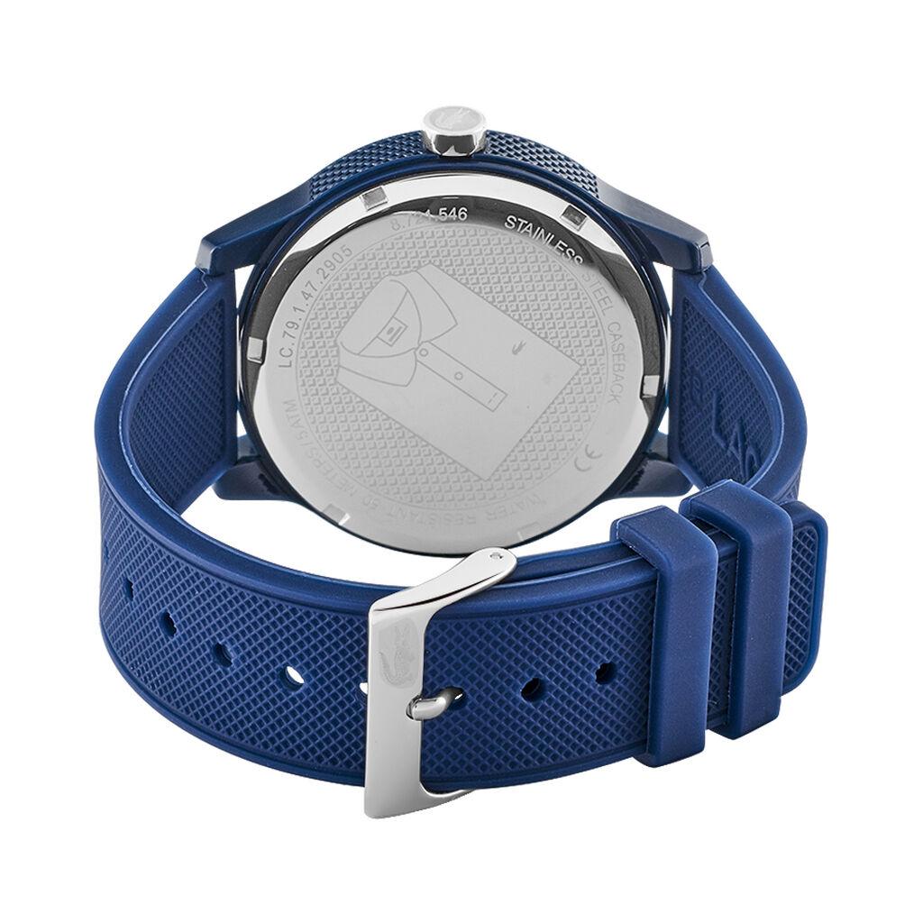 Montre Lacoste 12.12 Bleu - Montres classiques Homme | Histoire d'Or