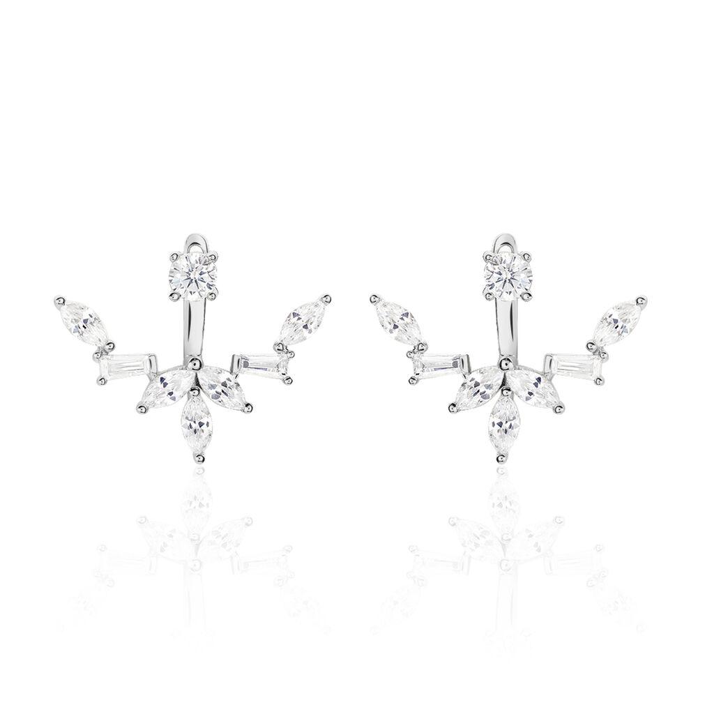 Bijoux D'oreilles Argent Rhodie Mahely - Ear cuffs Femme | Histoire d'Or