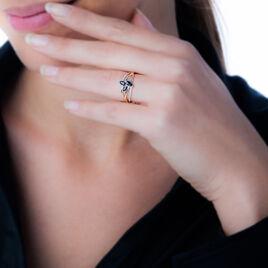 Bague Sevda Or Jaune Saphir Et Diamant - Bagues avec pierre Femme   Histoire d'Or