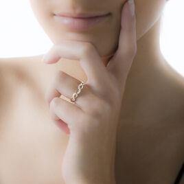 Bague Laury-anne Or Jaune Turquoise - Bagues avec pierre Femme   Histoire d'Or