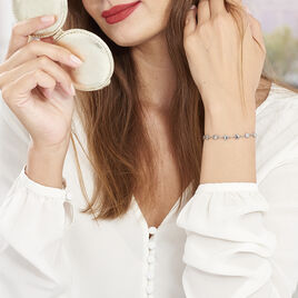 Bracelet Mityia Acier Blanc - Bracelets Coeur Femme | Histoire d'Or