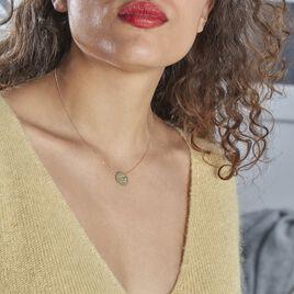 Collier Jolianne Or Jaune Oxyde De Zirconium - Bijoux Femme   Histoire d'Or