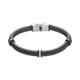 Bracelet Polo Acier Blanc - Bracelets fantaisie Homme   Histoire d'Or