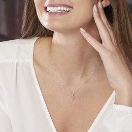 Collier Nucia Or Jaune Diamant - Bijoux Femme | Histoire d'Or