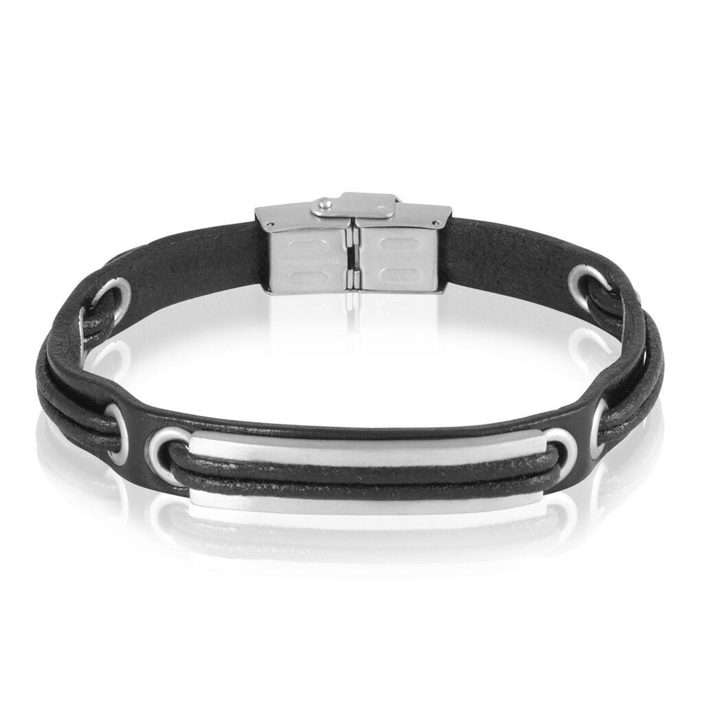 Bracelet Zohreae Acier Blanc - Bracelets fantaisie Homme | Histoire d'Or