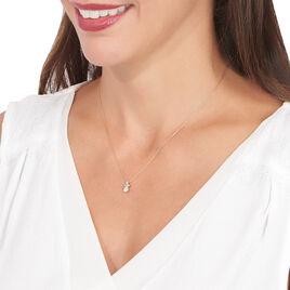 Collier Alicea Or Rose Diamant - Bijoux Femme   Histoire d'Or