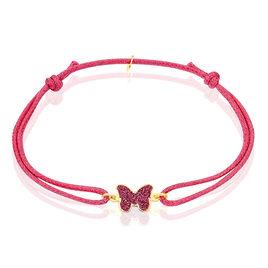 Bracelet Solena Papillon Or Jaune - Bracelets Naissance Enfant   Histoire d'Or