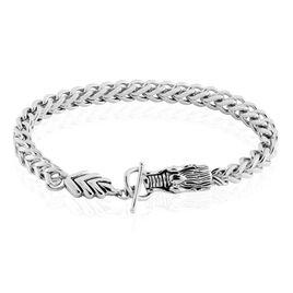 Bracelet Acier Gris Lacme - Bracelets fantaisie Homme   Histoire d'Or