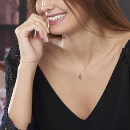 Collier Celestine Or Jaune Saphir Et Diamant - Bijoux Femme | Histoire d'Or