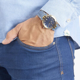 Montre Michel Herbelin Newport Bleu - Montres Homme | Histoire d'Or