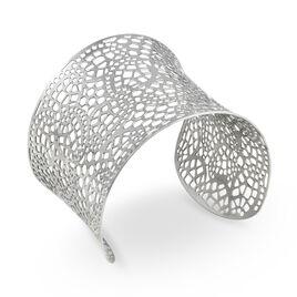 Bracelet Jonc Aimy Acier Blanc - Bracelets fantaisie Femme | Histoire d'Or