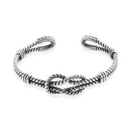 Bracelet Jonc Aghustin Acier Blanc - Bracelets fantaisie Homme | Histoire d'Or