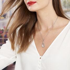 Collier Aelys Acier Blanc - Colliers fantaisie Femme | Histoire d'Or