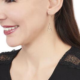 Boucles D'oreilles Pendantes Swanny Or Jaune - Boucles d'oreilles pendantes Femme | Histoire d'Or