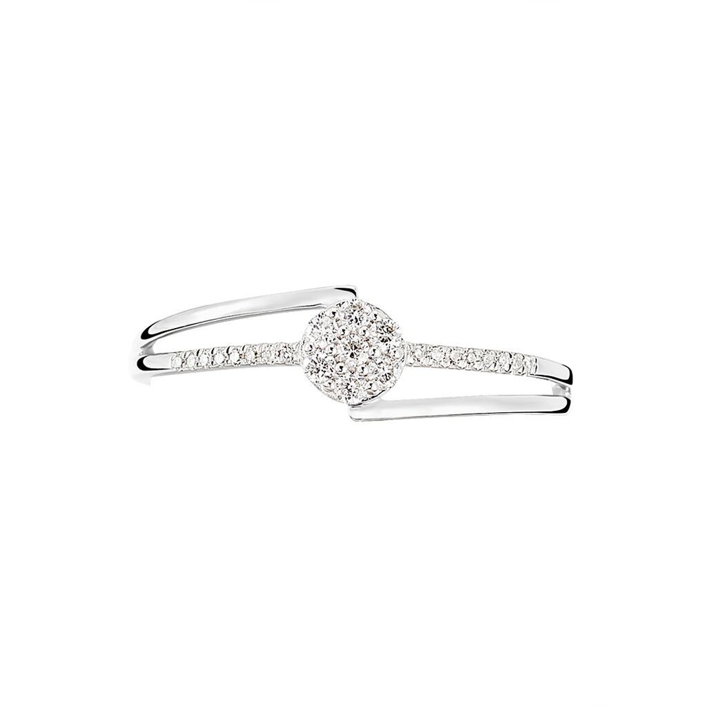 Bague Solitaire Atalante Or Blanc Diamant