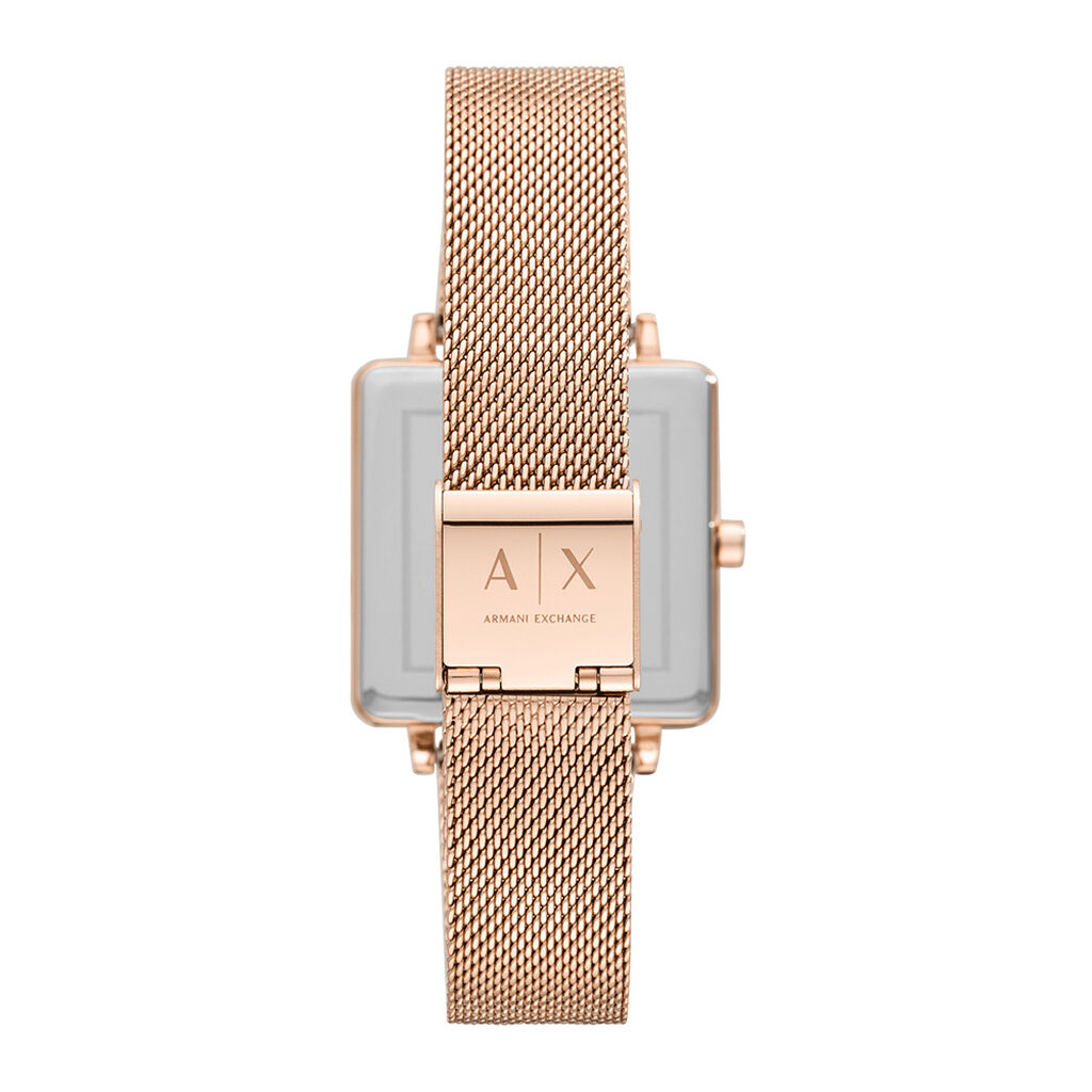 Montre Armani Exchange Lola Square Argent - Montres classiques Femme | Histoire d'Or