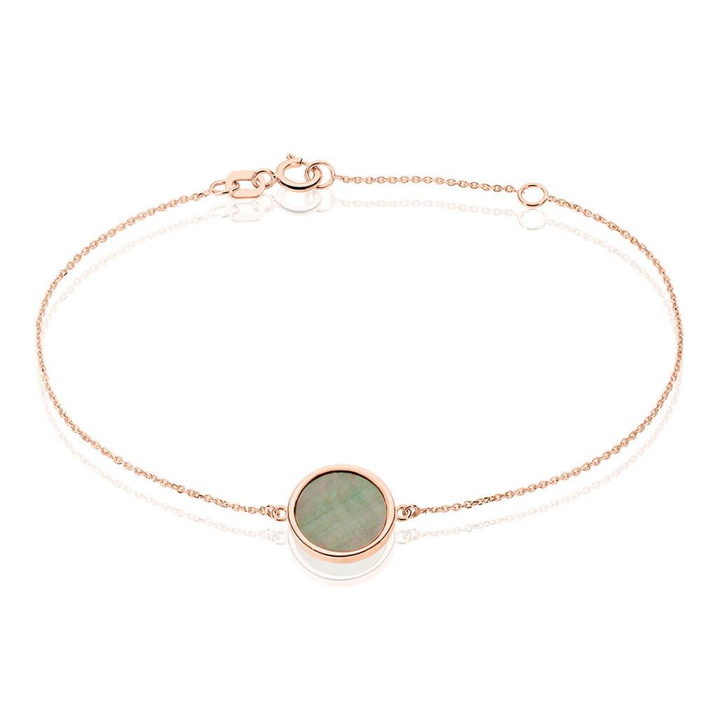 Bracelet Joana Or Rose Nacre - Bijoux Femme | Histoire d'Or